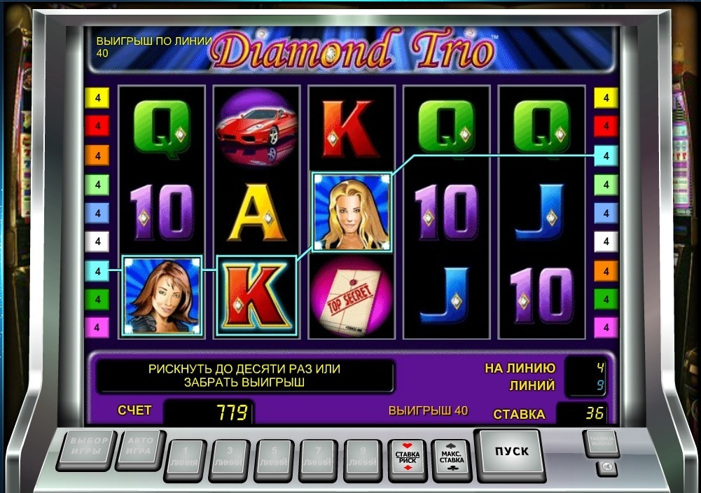 Игровые автоматы бесплатно слоты