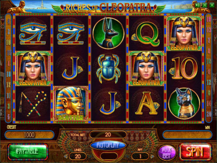 riches of cleopatra игровой автомат